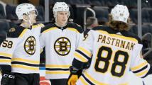 David Pastrňák byl za únor jmenován hlavní hvězdou Východní divize NHL
