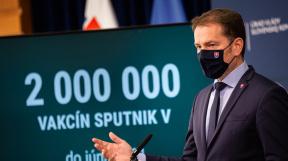 předseda slovenské vlády Igor Matovič