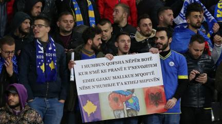 Bez vlajky a hymny hrát nebudeme, hrozí kosovští fotbalisté Španělsku