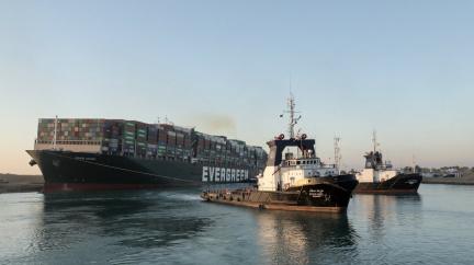 Aktualizováno: Zaseknutá Ever Given: Loď v Suezu se podařilo vyprostit