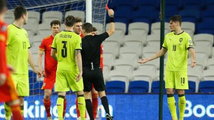 Čeští fotbalisté prohráli ve Walesu 0:1 a poprvé v kvalifikaci MS nebodovali