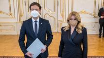 Slovenská prezidentka Čaputová jmenovala ministra financí Hegera premiérem