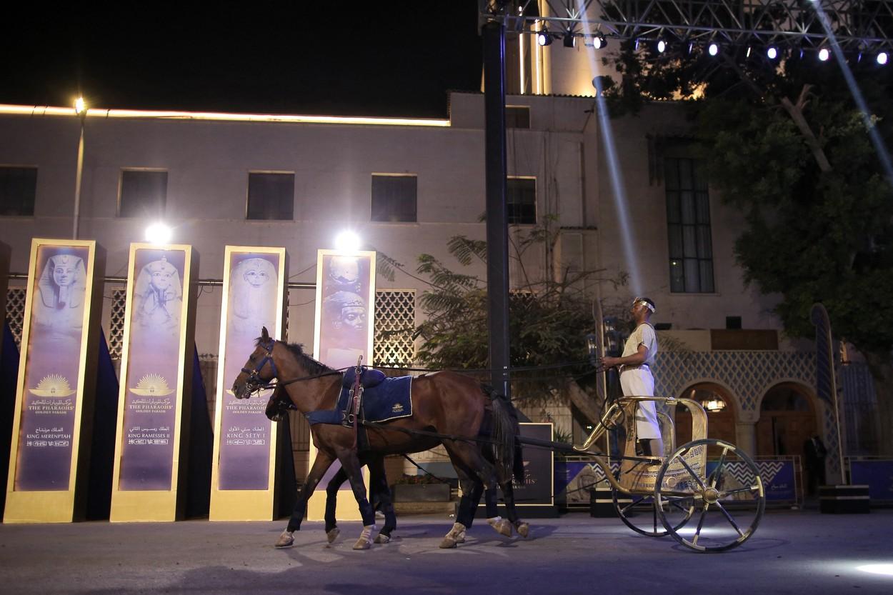 Faraonská jízda králů