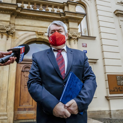 KSČM ukončila toleranci menšinové vlády Andreje Babiše