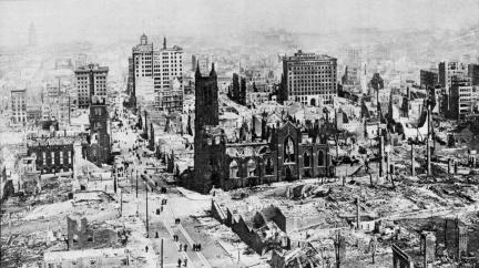 Den, kdy zemětřesení srovnalo San Francisko se zemí