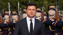 Macron, Merkelová a Zelenskyj vyzvali ke stažení ruských vojsk od Ukrajiny