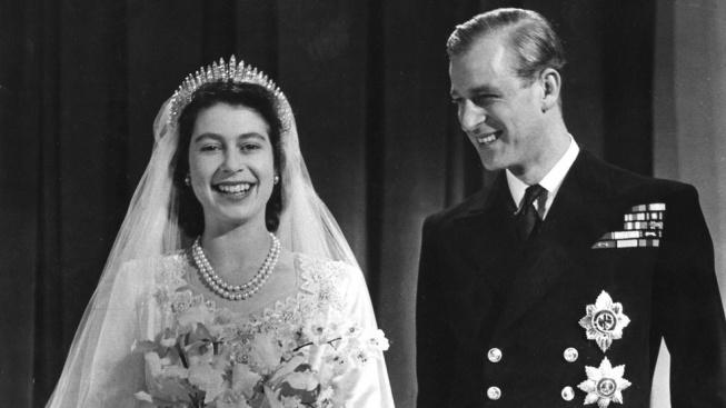 královna Alžběta II. a princ Phillip