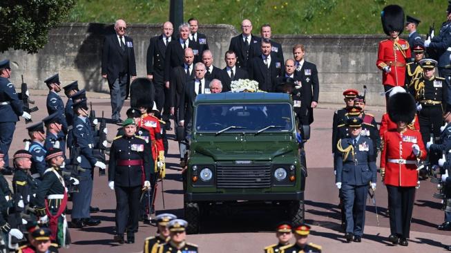 pohřeb prince Phillipa