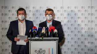 Babiš a Hamáček na tiskové konferenci informovali, že do výbuchu muničního areálu ve Vrběticích byli zapojeni příslušníci ruské tajné služby GRU