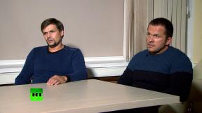 agenti Anatolij Čepiga s Alexandrem Miškinem