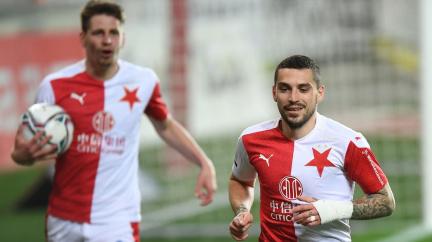 Slavia vyrovnala sparťanskou rekordní šňůru ligových zápasů bez porážky