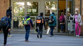 školy v době pandemie