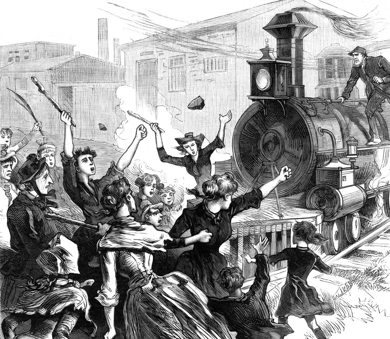 Stávka dělníků v Chicagu