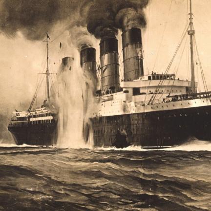Před 106 lety šla ke dnu Lusitania. Byl to válečný zločin?
