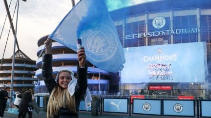 Fotbalisté Manchesteru City jsou mistry Premier League