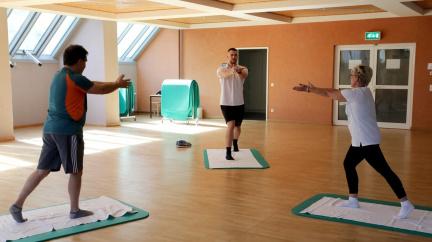 Speciální klinika u Baltu učí lidi po covidu znovu dýchat a chodit