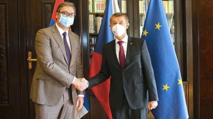Babiš se nečekaně setkal se Zemanem. Řešili očkování i schůzku se srbským prezidentem