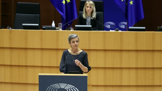 """""""Komise nebude tolerovat žádné chování založené na tajné spolupráci,"""" uvedla místopředsedkyně EK pro hospodářskou soutěž Margrethe Vestagerová"""