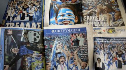 Slavné mistrovství očima vítězů: Češi byli nejlepší, i Řekové jim přáli