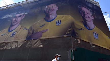 Rusko zuří: Na ukrajinském fotbalovém dresu je mapa země včetně Krymu