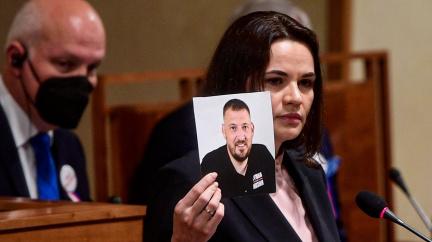 Cichanouská vystoupila v Senátu. Chce tribunál pro vyšetření zločinů Lukašenkovy diktatury
