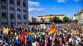 demonstrace LGBT Maďarsko