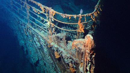 Vrak Titaniku se rozpouští, mizí rychlostí stovek kilogramů železa denně