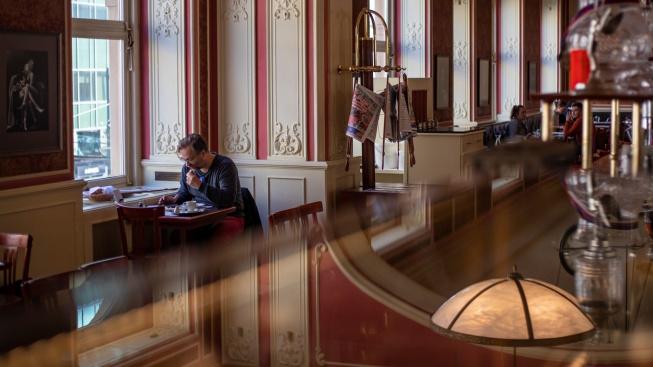 Pražské Café Louvre