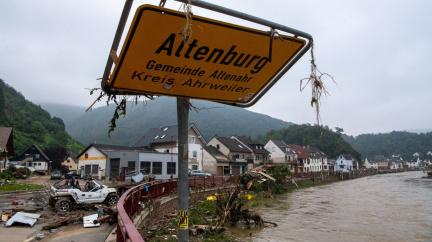 Katastrofální záplavy v Německu už zabily přes 140 lidí a číslo stále není konečné