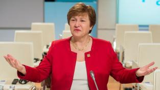Výkonná ředitelka Mezinárodního měnového fondu Kristalina Georgieva