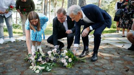 Utøya 10 let po tragédii. Norsko si připomíná útok pravicového extremisty Breivika