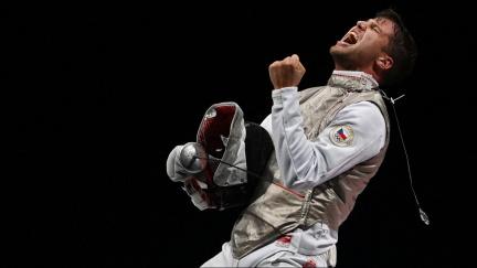 Bronzový Choupenitch vybojoval pro tuzemský šerm po 113 letech olympijskou medaili