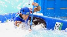 Další české zlato vybojoval na divoké vodě Prskavec