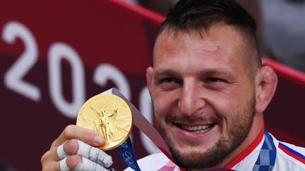 Judista Lukáš Krpálek je podruhé olympijským vítězem