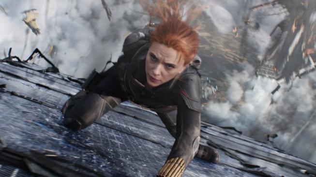 Scarlett Johanssonová ve snímku Black Widow