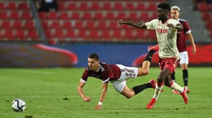 Sparta podlehla ve 3. předkole Ligy mistrů Monaku 0:2, odveta se hraje za týden