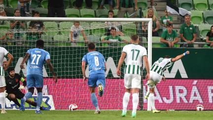Slavii vstup do bojů o Ligu mistrů nevyšel, v Budapešti prohrála 0:2