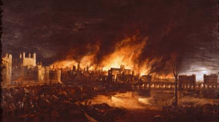 Červená se line záře: Před 355 lety zdevastoval obří požár Londýn