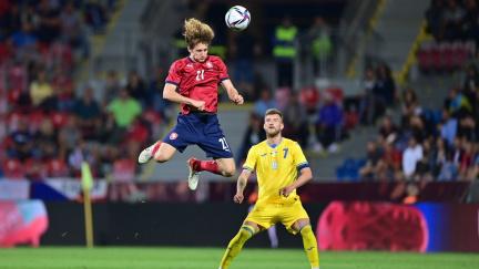 Čeští fotbalisté remizovali1:1v přípravném zápase s Ukrajinou