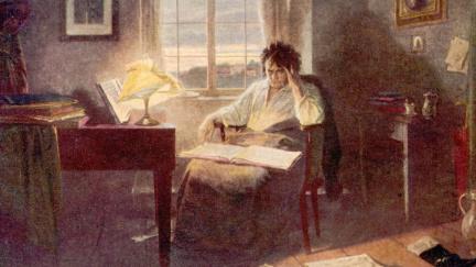 Neslyšící Beethoven mohl komponovat díky udělátku na klavíru