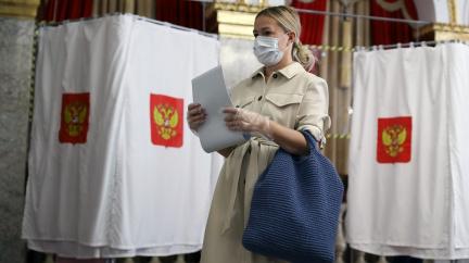 """""""Jde o cenzuru."""" V Rusku začaly třídenní volby, Navalného volební aplikaci smazali"""