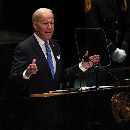 Biden v OSN zdůraznil potřebu spolupráce v boji proti pandemii a klimatické krizi