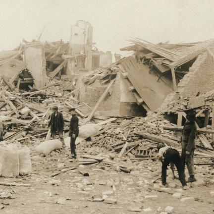 Před sto lety otřásl Německem obří výbuch chemičky BASF