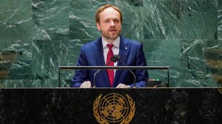 Kulhánek v OSN vyzval ke spolupráci v boji proti terorismu či změnám klimatu