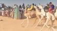 Malí, ale šikovní. Na velbloudích závodech saharskou slávu sklízejí malí kluci