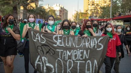 """""""Chceme právo se rozhodnout."""" Ženy v Latinské Americe demonstrovaly za legalizaci interrupcí"""