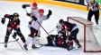 Hokejisté Sparty se v Lize mistrů přiblížili postupu, Třinec poprvé vyhrál