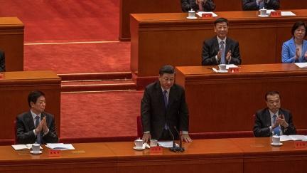 """Čínský prezident při výročí revoluce zdůraznil nutnost """"znovusjednocení"""" s Tchaj-wanem"""
