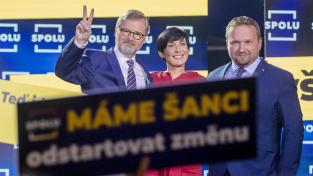 Volby vyhrála koalice Spolu, s PirSTAN mají většinu, KSČM a ČSSD pod 5 procent
