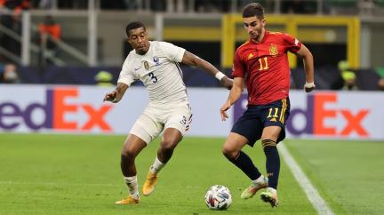 Fotbalisté Francie porazili ve finále Španělsko a ovládli Ligu národů